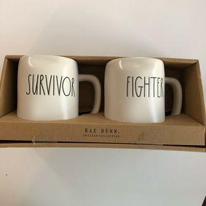 Rae Dunn Two Mug set
